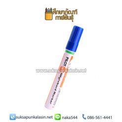 ปากกาไวท์บอร์ด ไพล็อต WBMK-B หัวตัด สีน้ำเงิน