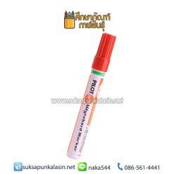 ปากกาไวท์บอร์ด ไพล็อต WBMK-M หัวกลม สีแดง