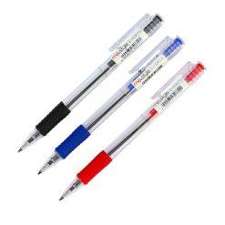ปากกาลูกลื่น 0.7มม. คละสี แพ็ค 3 ด้าม ME.STYLE MC-166