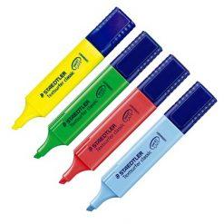 ปากกาเน้นข้อความ คละสี แพ็ค4ด้าม สเต็ดเล่อร์ 364
