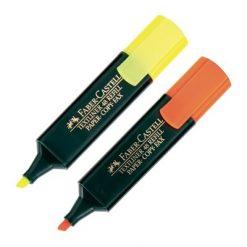 ปากกาเน้นข้อความ เหลือง+ส้ม Faber-Castell 4J7619