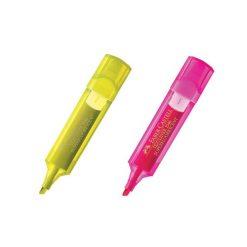 ปากกาเน้นข้อความ เหลือง+ชมพู Faber-Castell 4J7620