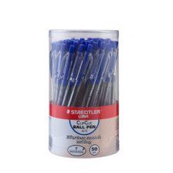 ปากกาลูกลื่น 0.5 มม. สีน้ำเงิน 50 ด้าม สเต็ดเล่อร์ 4272