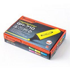 ปากกาเน้นข้อความ ส้ม (แพ็ค12ด้าม) ควอนตั้ม QH710