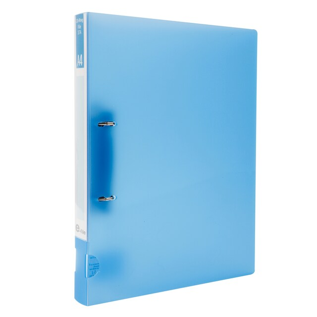 E-file 37A 2 Rings Binder A4 1.5-Inch Spine Blue