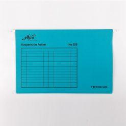 แฟ้มแขวน F4 น้ำเงิน (แพ็ค10เล่ม) เอลเฟ่น 525