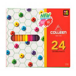 COLLEEN สีไม้คอลลีนหัวเดียว 24 สี