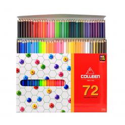 COLLEEN สีไม้คอลลีน 72 สี