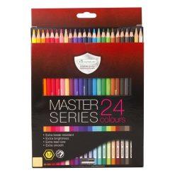 ดินสอสีไม้เกรดพรีเมี่ยมยาว 24 สี มาสเตอร์อาร์ต Series