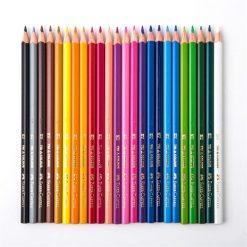 ดินสอสีไม้ 24 สี ด้ามสามเหลี่ยม Faber-Castell 115855