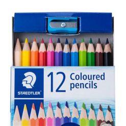 ดินสอสีไม้ สเต็ดเล่อร์ 143 12 สี