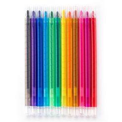 สีเทียน คละสี (แพ็ค12ด้าม) - Spins