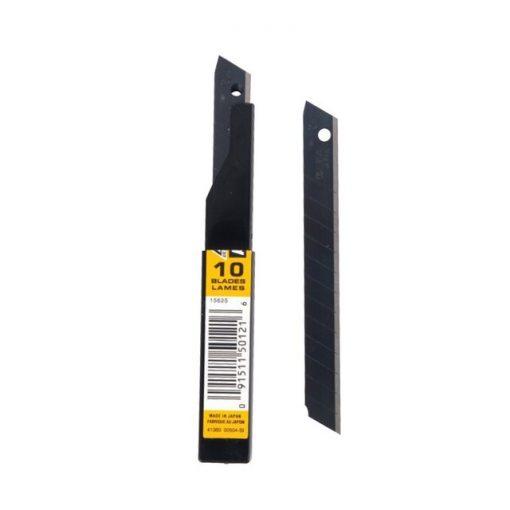 ใบมีดคัตเตอร์ 9 มม. (หลอด10ใบ) โอฟ่า ASBB-10
