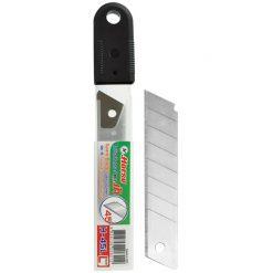 ใบมีดคัตเตอร์ L 45 องศา 18 มม. (หลอด 6 ใบ) ตราม้า
