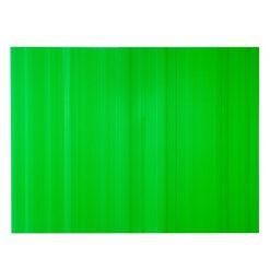 แผ่นพลาสติกลูกฟูก 2 มม. 49x65 ซม. เขียว แพลนโก F1-PB1