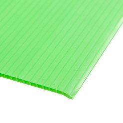 แผ่นพลาสติกลูกฟูก 2 มม. 49x65 ซม. เขียวอ่อน แพลนโก