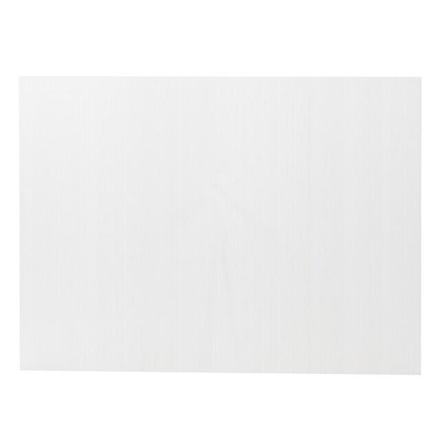 แผ่นพลาสติกลูกฟูก 2 มม. 49x65 ซม. สีขาว แพลนโก F1-PB1