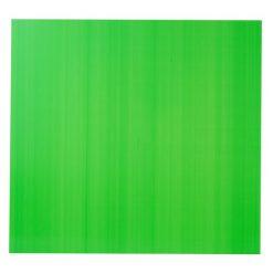 แผ่นพลาสติกลูกฟูก 3 มม. 65x61 ซม. เขียวอ่อน Plango