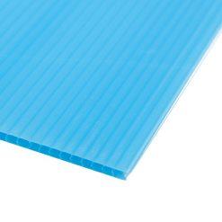 แผ่นพลาสติกลูกฟูก 3 มม. 65x61 ซม. สีฟ้า Plango