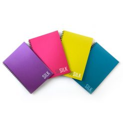 สมุดริมลวด B5 70 แกรม คละสี (60แผ่น) ตราช้าง sosilk-101