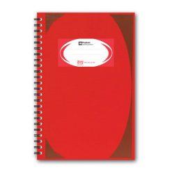 สมุดบันทึกมุมมันสันห่วง แดง ตราช้าง WHC403