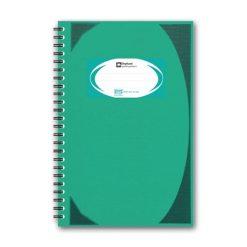 สมุดบันทึกมุมมันสันห่วง เขียว ตราช้าง WHC404