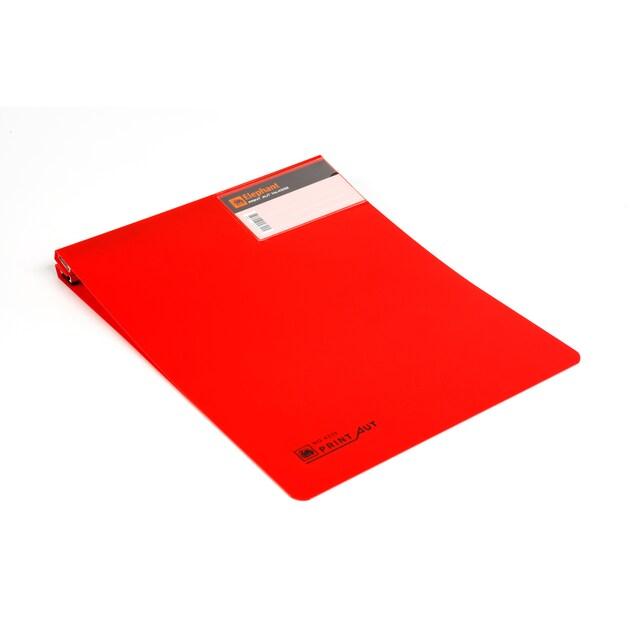 """แฟ้มคอมพิวเตอร์ 9""""x11"""" สีแดง ตราช้าง 4332"""