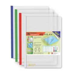 แฟ้มโชว์เอกสารสันรูด (414L) คละสี (แพ็ค12เล่ม) ตราช้าง 414
