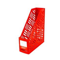 กล่องเอกสารพลาสติก 1 ช่อง แดง โรบิน 121