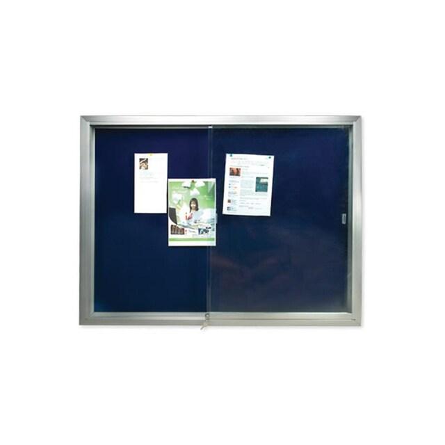 บอร์ดประกาศตู้กระจก 90x120 ซม. ฟูจิ